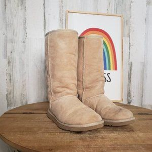 UGG boots Classic Tall 5815 Sand Size 6